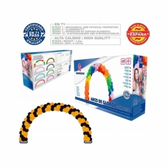 Arco con Globos completo Caja colores