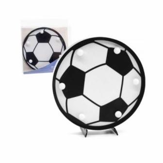 Figura Led Balón Fútbol