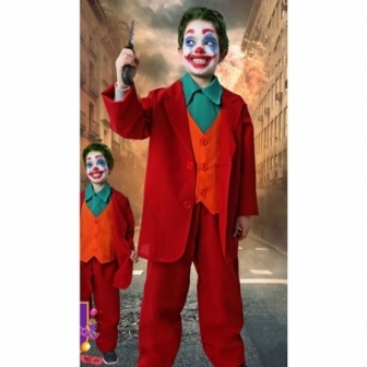 Disfraz Payaso asesino sonrisas infantil