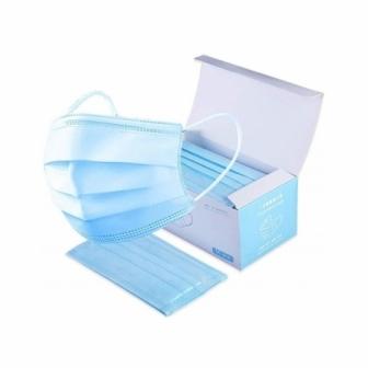 Caja 50 mascarillas triple capa CE