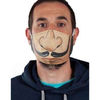 Mascarilla higiénica Dalí Adulto