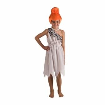 Disfraz Cavernícola blanca infantil