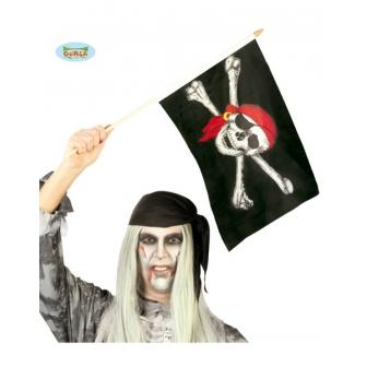 Bandera Pirata 45x30 Unidad