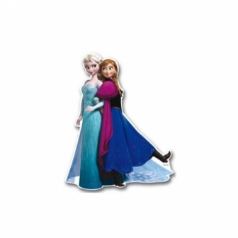 2 Mini Figuras Frozen 30 Cm