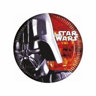 Platos Star Wars 23 Cm. 8 Unid.