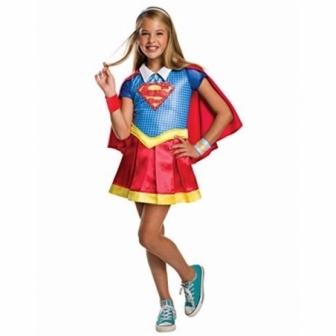 Disfraz Supergirl Shg Deluxe para niña