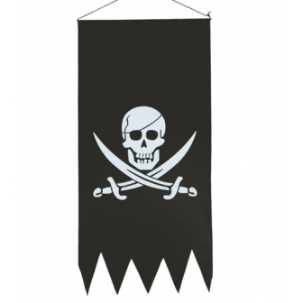 Pendón pirata 43x86cm