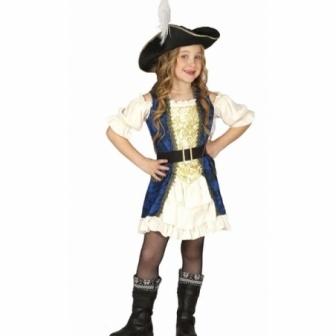 Disfraz Capitana para niña