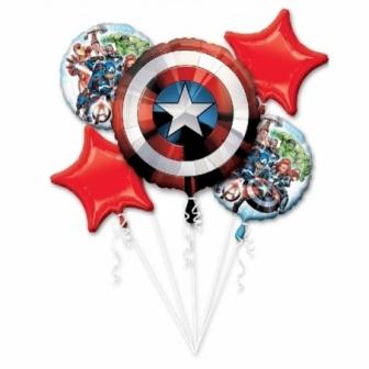 Ramo de globos foil Los Vengadores