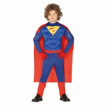 Disfraz Superhéroe musculoso infantil