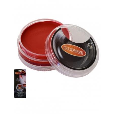 Maquillaje Al Agua Rojo 14 Gr