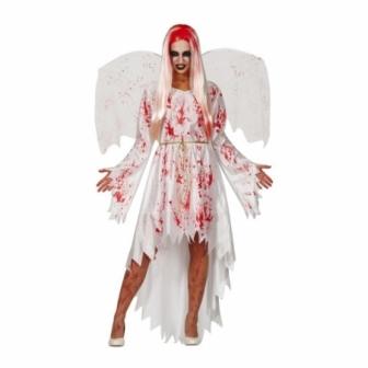 Disfraz Angel sangriento mujer