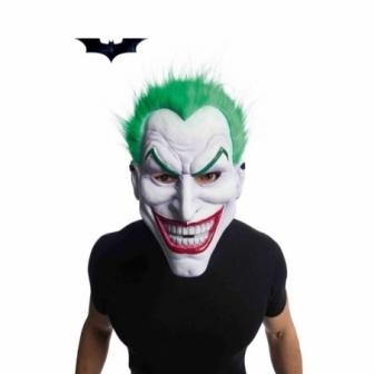 Máscara Joker PVC con Pelo