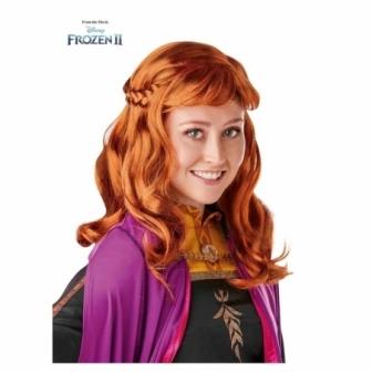 Peluca Anna Frozen 2 Adulta