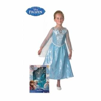 Disfraz Elsa c/luz y música en caja infa