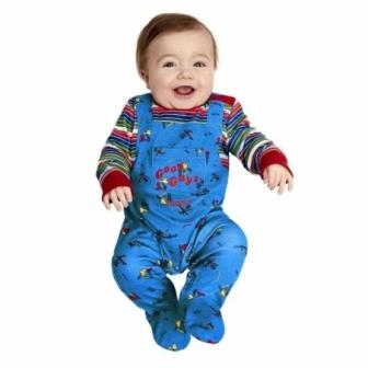 Disfraz de Chucky para bebés