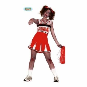 Disfraz Animadora Zombie Mujer  T.L