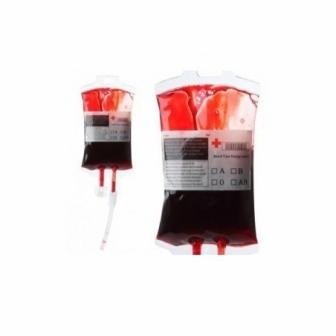 Bolsa con sangre enfermeria 16x9cm