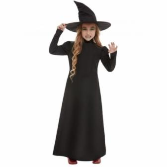 Disfraz de Bruja clásica para niña