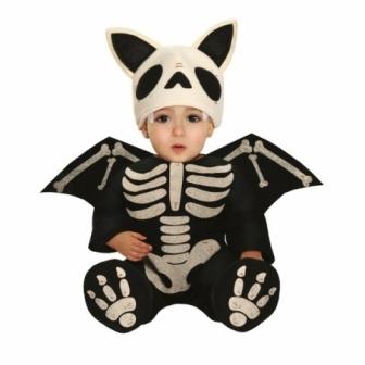 Disfraz Murciélago esqueleto para bebés