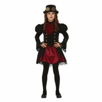 Disfraz Gótica para niña