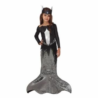 Disfraz de Sirena siniestra para niña