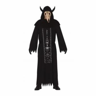 Disfraz Satánico con máscara para adulto