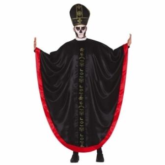 Disfraz Cardenal satánico para hombre