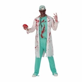Disfraz Doctor Zombie para hombre