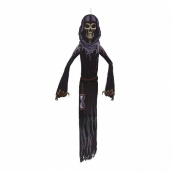 Decoración esqueleto con túnica 150 cms.