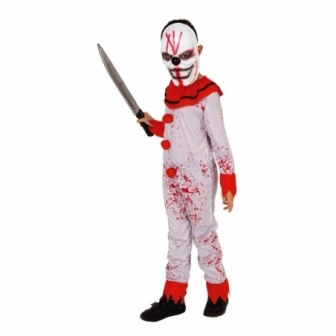 Disfraz Payaso sanguinario infantil