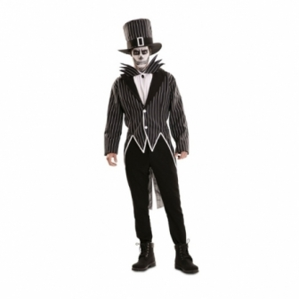 Disfraz Esqueleto Elegante Adulto