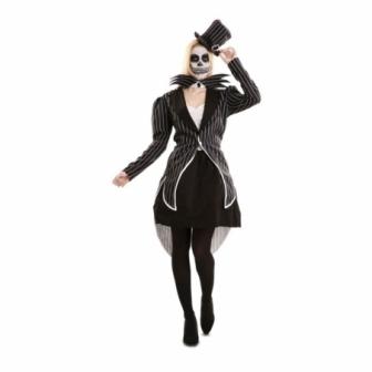 Disfraz Esqueleto Elegante Mujer