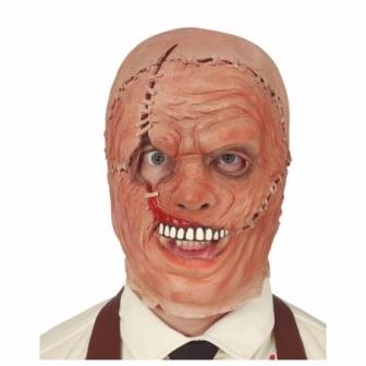 Máscara asesino cuero látex