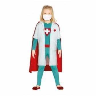 Disfraz Super Doctora heroína infantil
