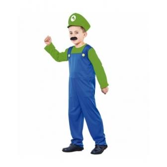 Disfraz Fontanero verde  infantil