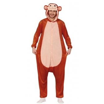 Disfraz Monkey pijama para adulto