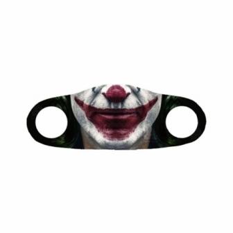 Mascarilla de tela Halloween boca payaso