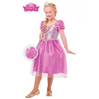 Disfraz Rapunzel Glitter/Spark DLX niña
