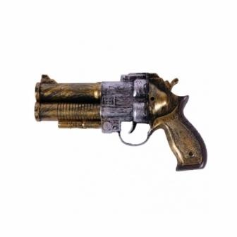 Pistola Steampunk sonido 22x13x4cm