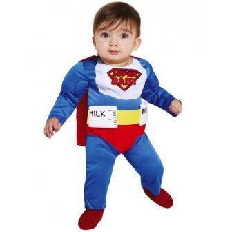 Disfraz Super Biberon Man para bebés
