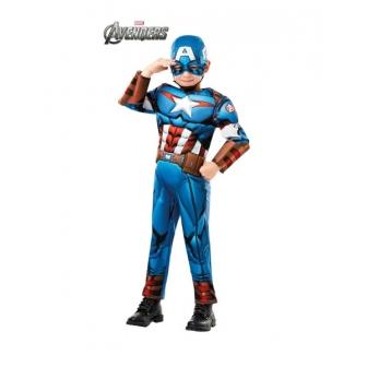 Disfraz Capitán América deluxe infantil