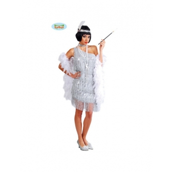 Disfraz Charleston  Flecos mujer