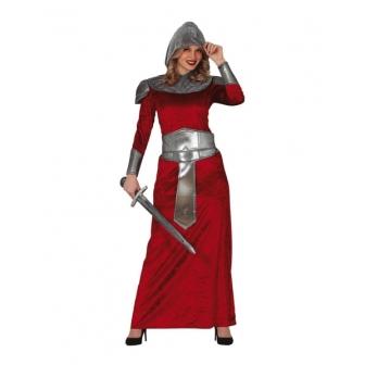 Disfraz Guerrera medieval para mujer