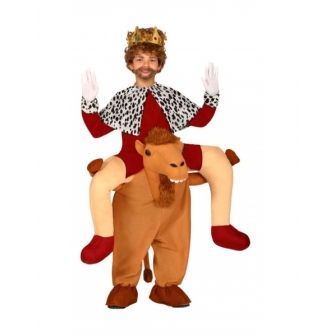 Disfraz Rey con camello infantil