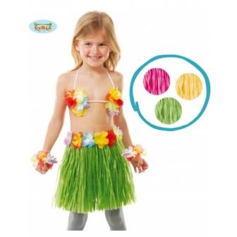 Conjunto Hawaiano Infantil 3 Piezas