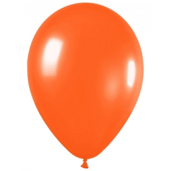 Bolsa 50 Globos Metal Naranja