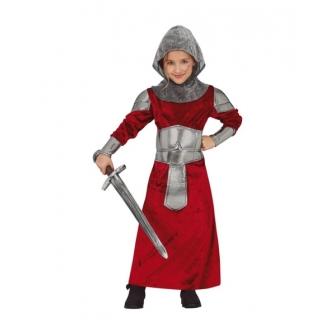 Disfraz Guerrera medieval para niña