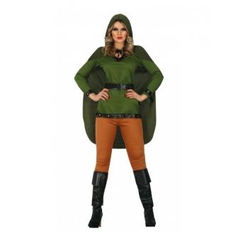 Disfraz Arquera medieval para mujer