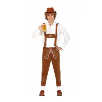 Disfraz Tirolés marrón para hombre